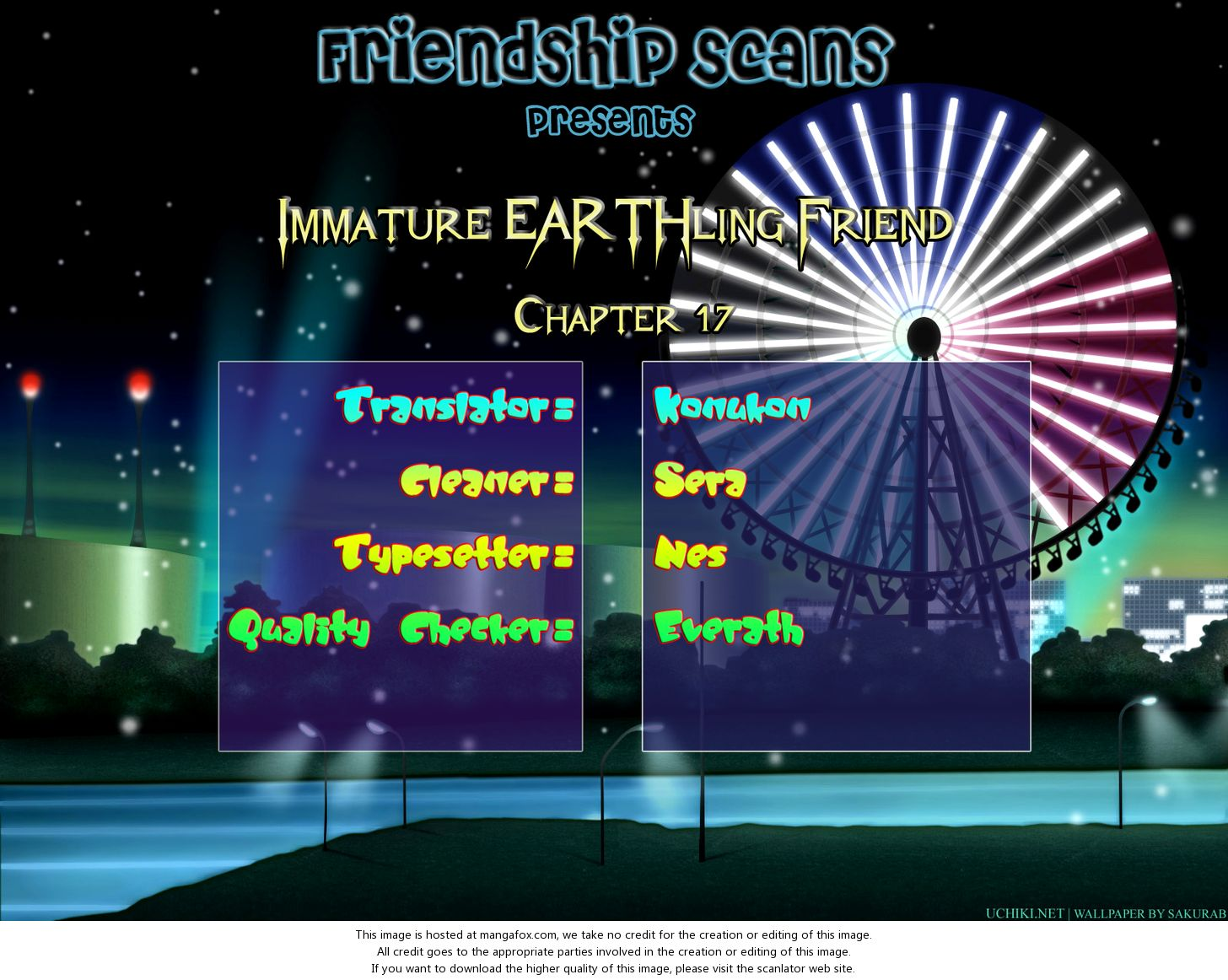 Immature EARTHling Friend 17: Mini Series: Love 100 Tons at MangaFox.la