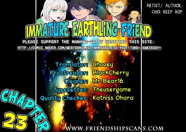 Immature EARTHling Friend 23: Dating Episode(3) at MangaFox.la