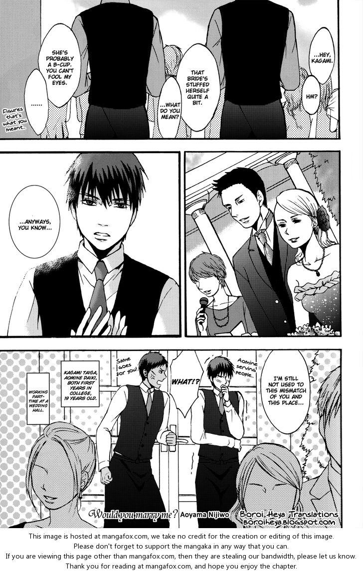 Kuroko no Basuke dj - AK Working Warning 13: Would you marry me? at MangaFox.la