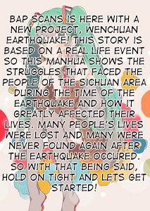 Wenchuan Earthquake 1: When the Earthquake Struck (1) at MangaFox.la