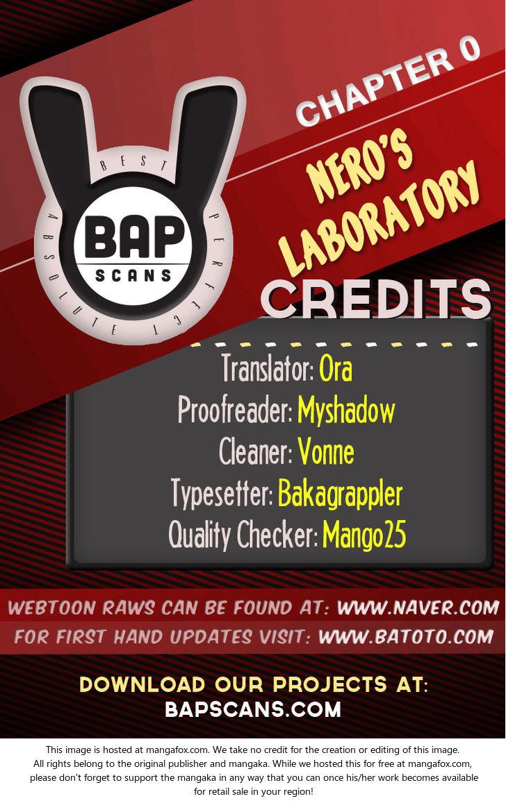 Nero's Laboratory 0: Prologue at MangaFox.la