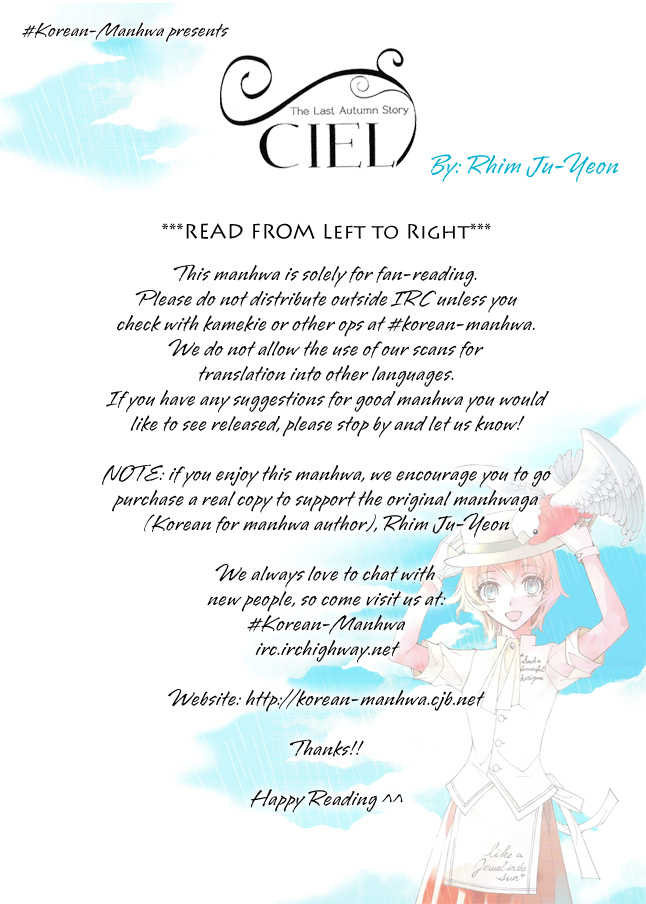 Ciel~the Last Autumn Story~ 19: Rosebud (3) at MangaFox.la