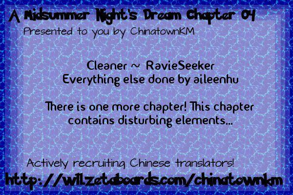 A Midsummer Night's Dream 4 at MangaFox.la