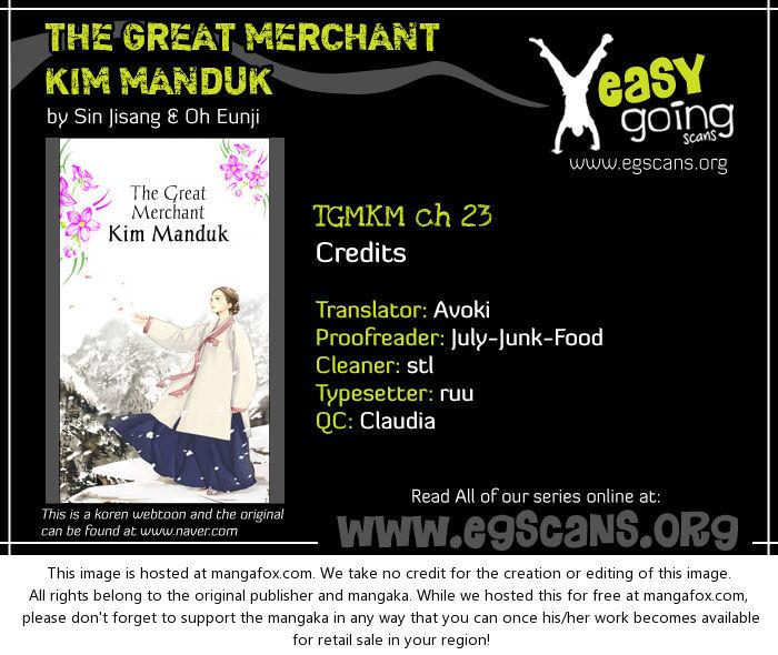 The Great Merchant Kim Manduk 23 at MangaFox.la