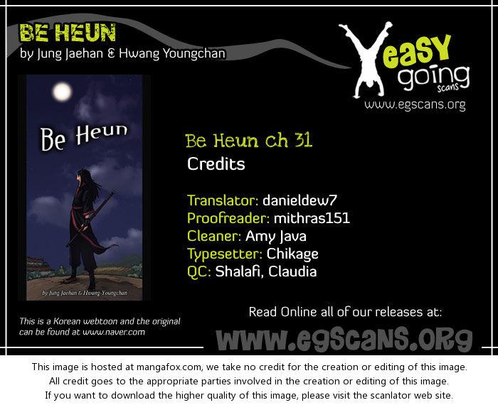 Be Heun 31: Baek-Oo Lang (6) at MangaFox.la