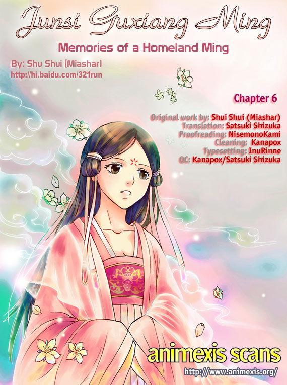 Memories of a Homeland Ming 6 at MangaFox.la
