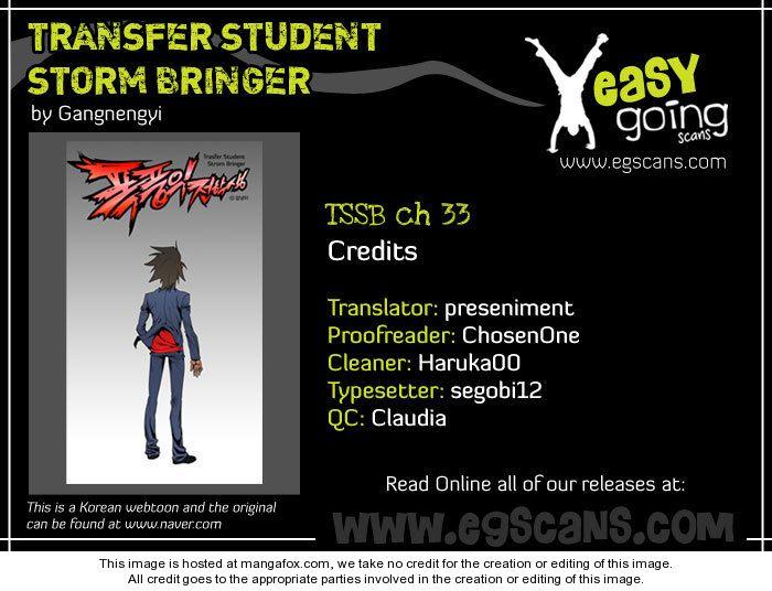 Transfer Student Storm Bringer 33 at MangaFox.la