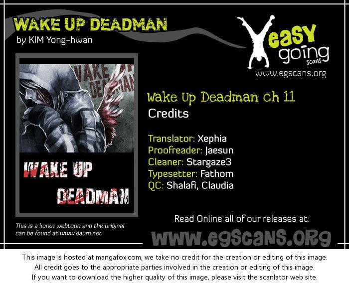 Wake Up Deadman 11 at MangaFox.la