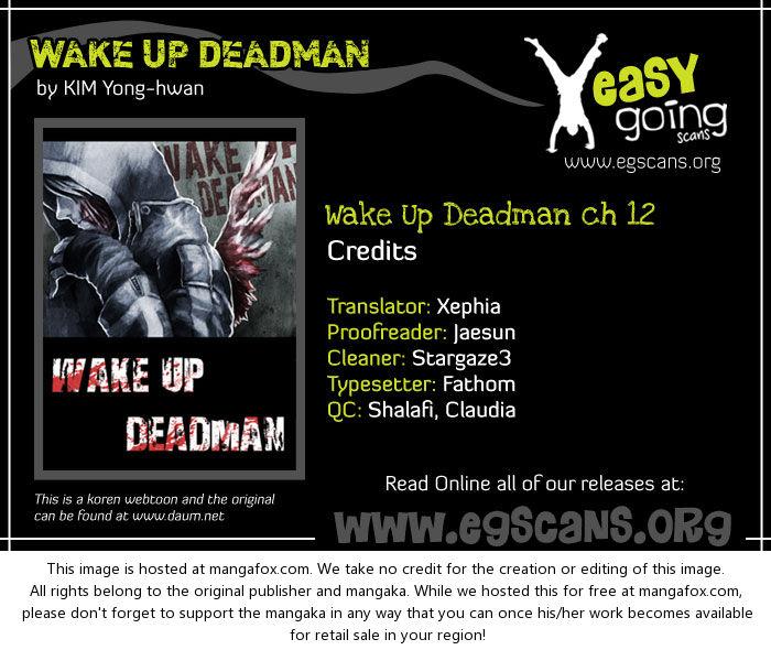 Wake Up Deadman 12 at MangaFox.la