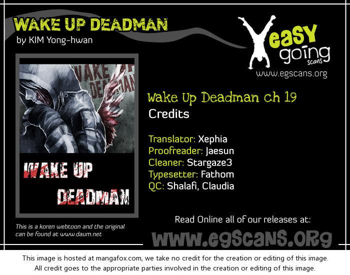 Wake Up Deadman 19 at MangaFox.la