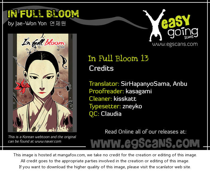 In Full Bloom (YON Jae-Won) 13: Decision at MangaFox.la