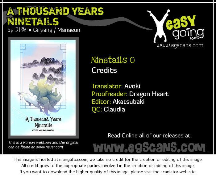 A Thousand Years Ninetails 0: Prologue at MangaFox.la