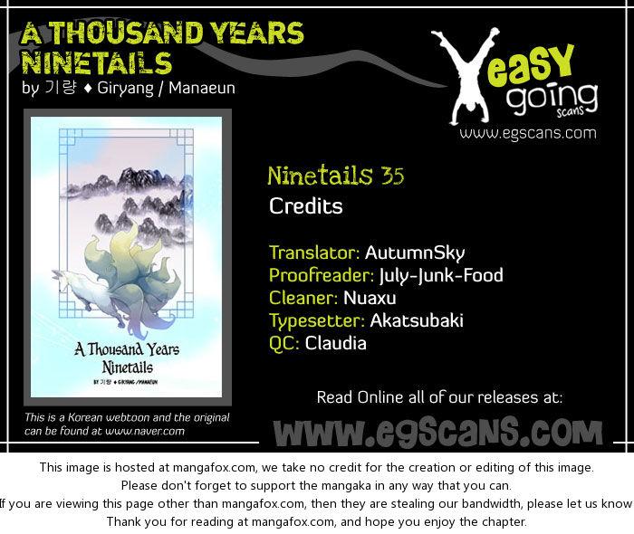 A Thousand Years Ninetails 35: Suffering at MangaFox.la