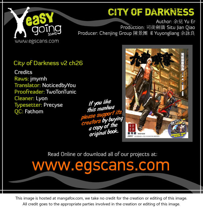 City of Darkness 58: A Fateful Night at MangaFox.la
