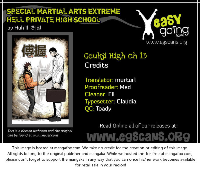 Special Martial Arts Extreme Hell Private High School 13 at MangaFox.la