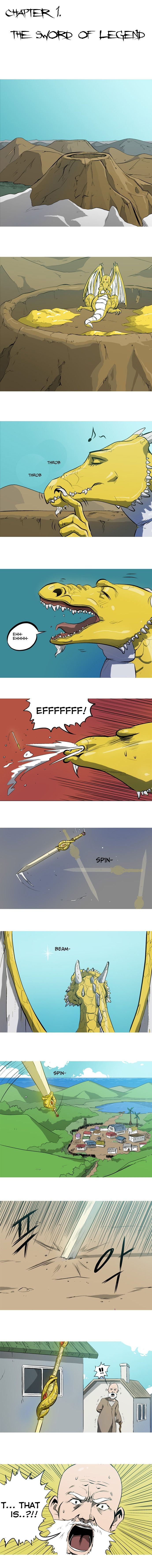 Dragon's Son Changsik 1: The Sword of Legend at MangaFox.la