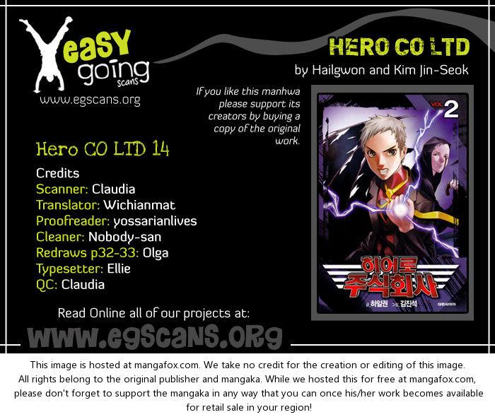 Hero Co., Ltd. 14: Sad Hero at MangaFox.la