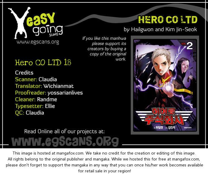 Hero Co., Ltd. 18: He's Back at MangaFox.la