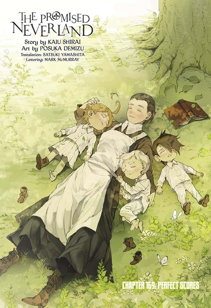 The Promised Neverland, Chapter 169 - The Promised Neverland Manga Online