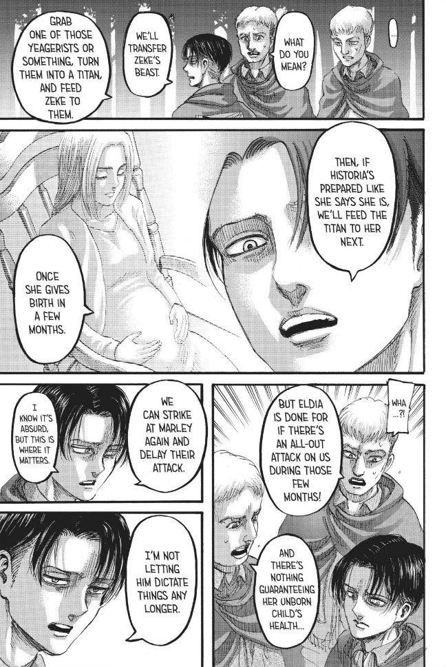 Attack on Titan, Chapter 112 - Attack on Titan Manga Online