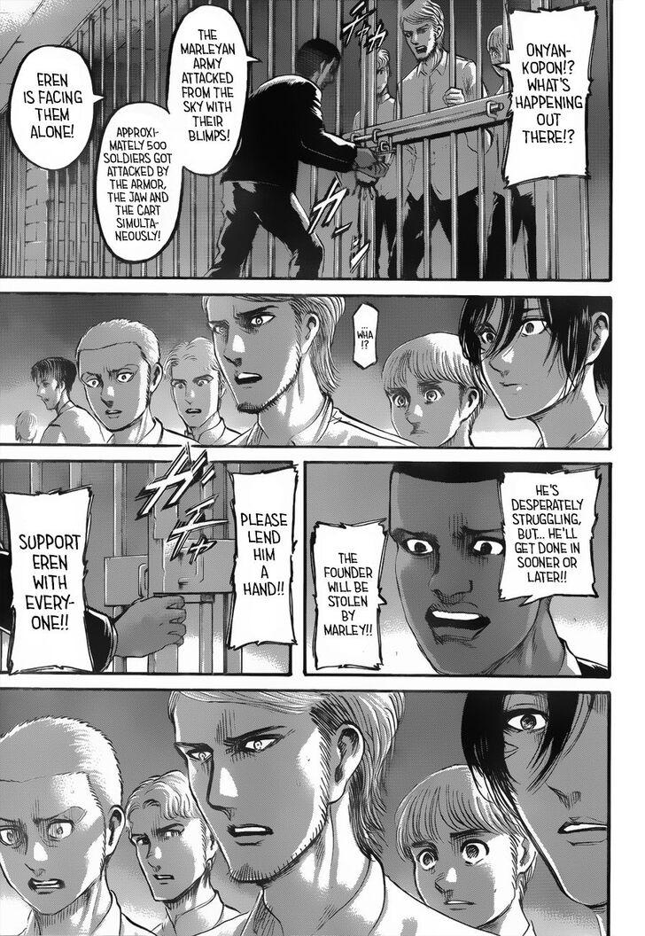 Attack on Titan, Chapter 118 - Attack on Titan Manga Online